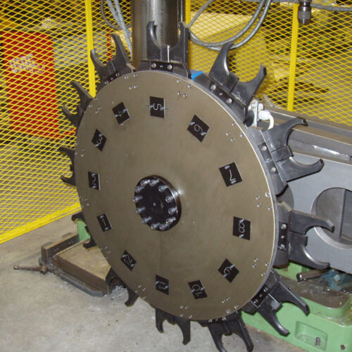 12 POSITIONS TOOL CHANGER